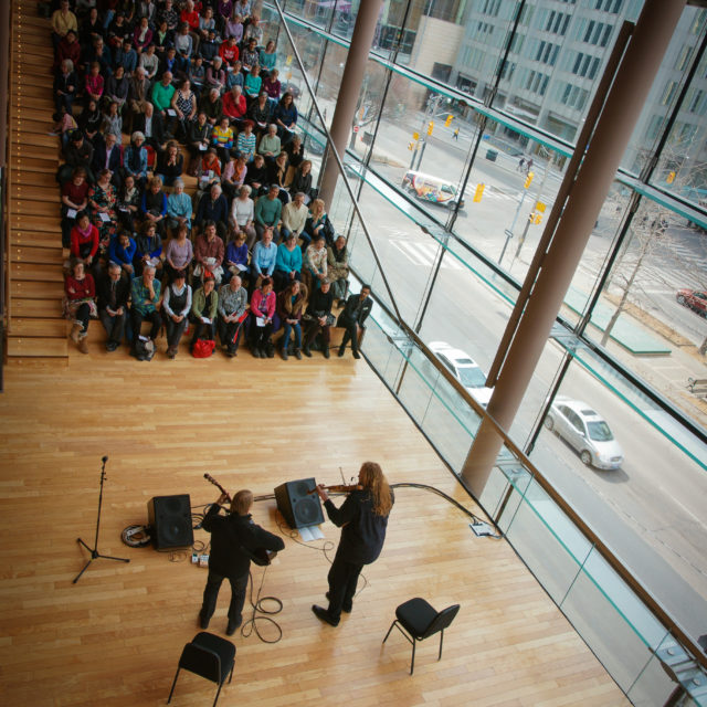 Performing at Canadian Opera Company Free Concert Series